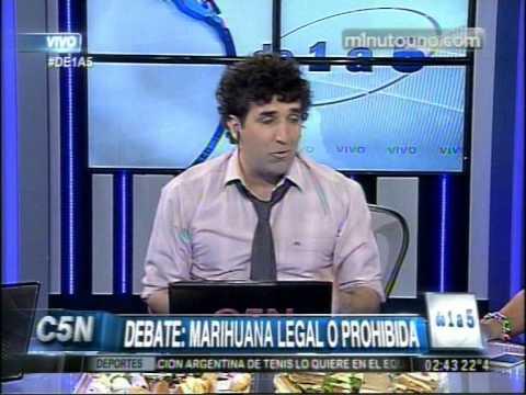 C5N - DE1A5: DEBATE CON SEBASTIAN BASALO DIRECTOR DE LA REVISTA THC