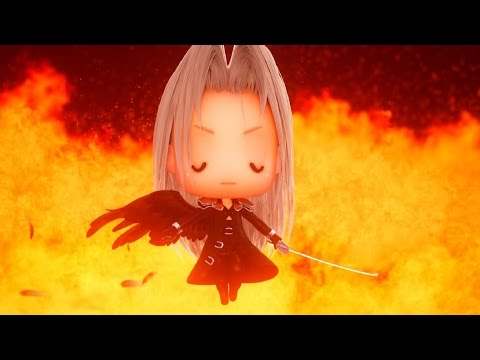 World of Final Fantasy: Sephiroth Champion Summon (1080p 60fps)