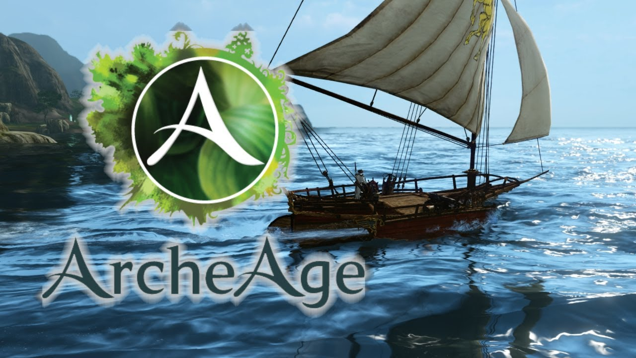 ArcheAge: Building a Boat! - YouTube