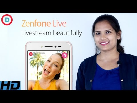 Asus ZenFone Live with Realtime Beautification Feature in Hindi | Camera phone In Budgeted price