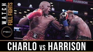 Charlo vs Harrison FULL FIGHT: December 22, 2018 — PBC on FOX