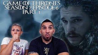 Game of Thrones Season 7 Episode 6 'Beyond the Wall' Part 1 REACTION!!