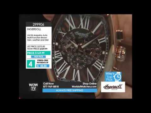 Shop Watches: World of Watches TV. WOWTV 10/30/2016