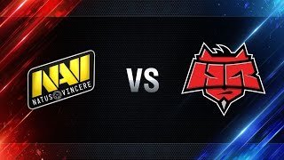 Natus Vincere vs HellRaisers - day 4 week 4 Season I Gold Series WGL RU 2016/17