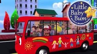 karaoke: Wheels On The Bus Part 2 - Instrumental Version With Lyrics from LittleBabyBum!