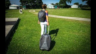 Osprey Meridian   Product Review   Luggage Backpack With Wheels and Daypack (2 Bags in One)