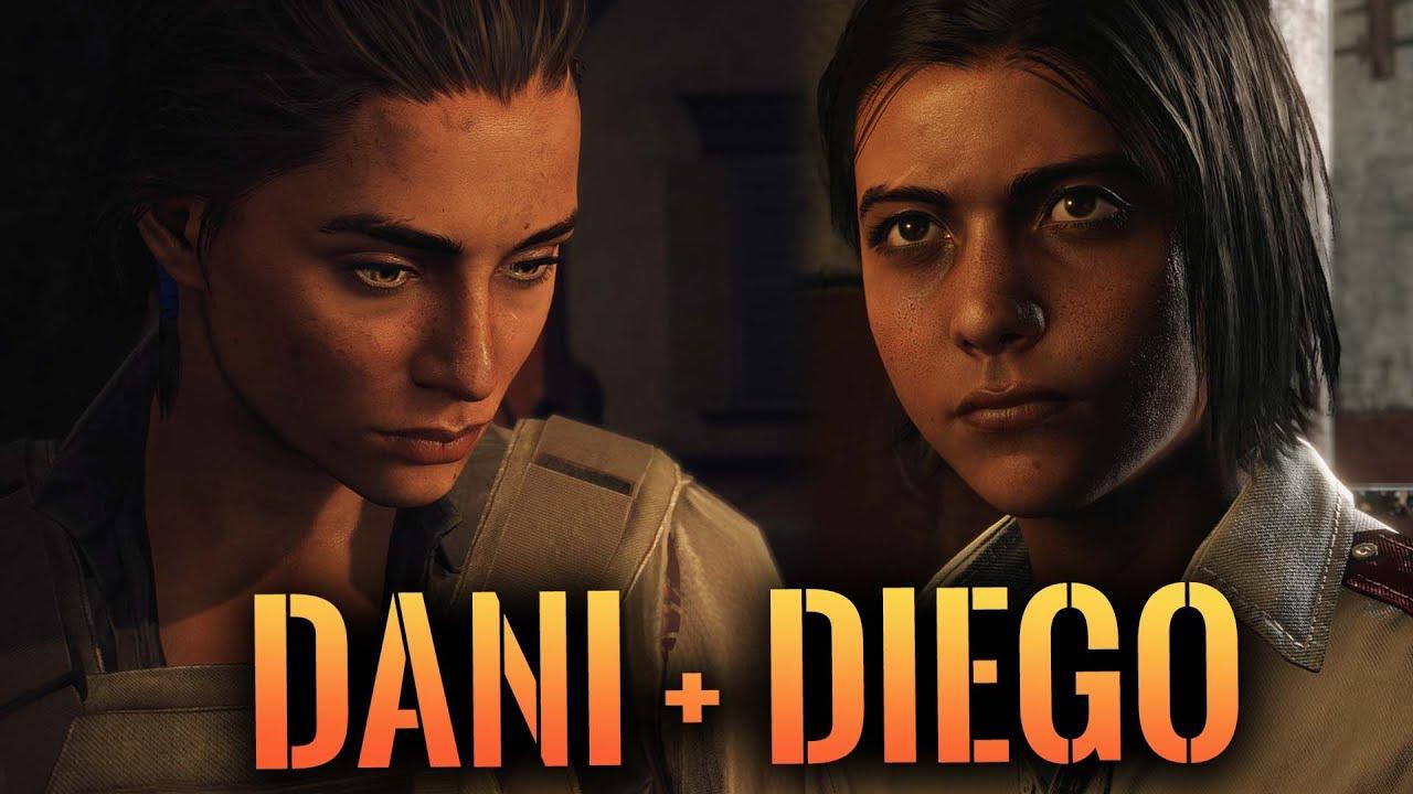 Far Cry 6 - Diego + Dani ALL SCENES // The Tragic Story of Dani + Diego