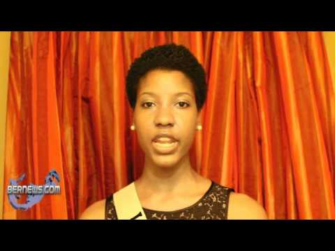 Davika Hill Miss Bermuda Contestant March 30th 2011