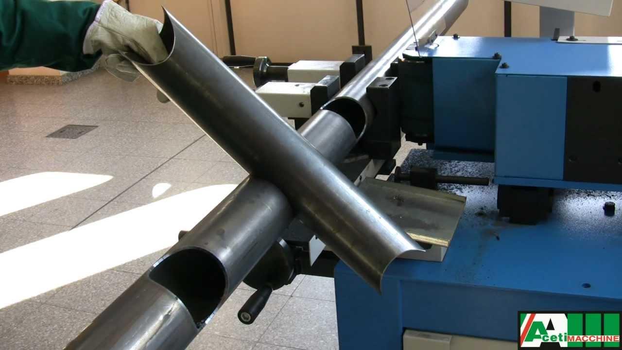 Universal Pipe Notcher Machine Art 130 Aceti Macchine