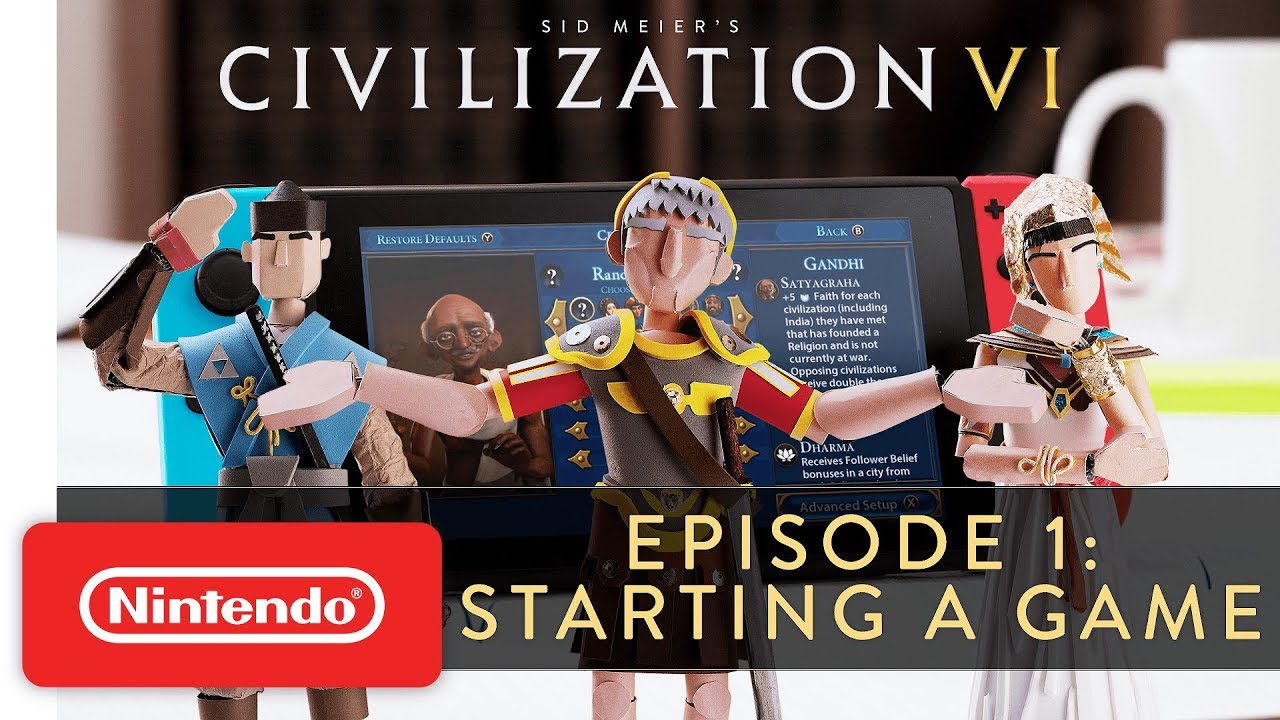 Switch Version Of Civilization VI Will Support Touch Controls In