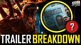 VENOM 2 Let There Be Carnage Trailer Breakdown | Easter Eggs Explained, Reaction & Things You Missed
