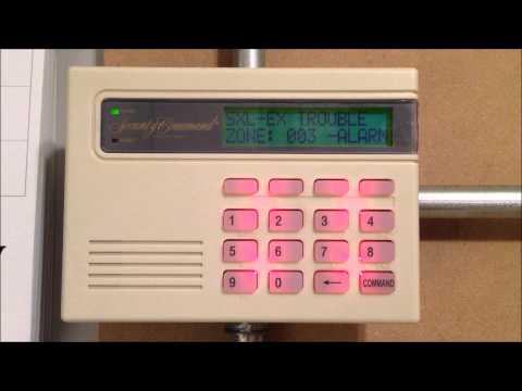 DMP 690 Security Command Keypad Alarm Sounds