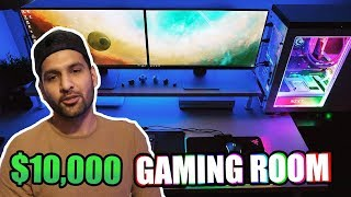 MY $10,000 GAMING ROOM TOUR! | ZAIDALIT