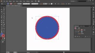 60 Second Illustrator Tutorial : Create a Double Stroke -HD-