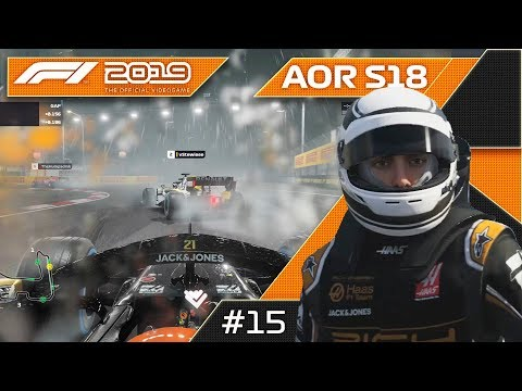The Toughest Combination On F1 2019! AOR S18 XB1 F3 Round 15 Singapore GP! 4k60fps