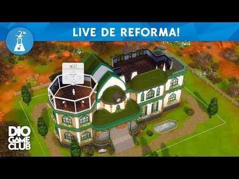 3ª PARTE - REFORMANDO A MANSÃO DE STRANGER VILLE! ~ The Sims 4 | DioGameClub thumbnail