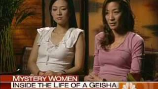 Ziyi Zhang and Michelle Yeoh talk about Mememoirs of A Geisha on NBCs Today show