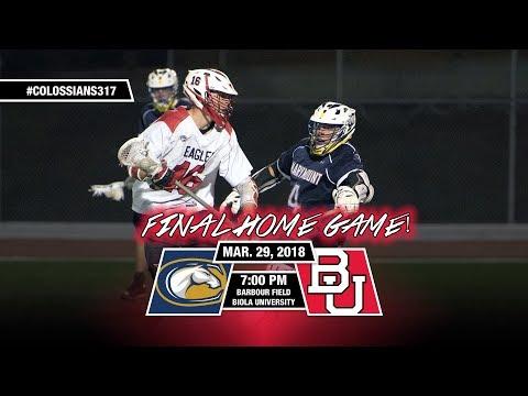 Biola University Men's Lacrosse vs. #14 UC Davis