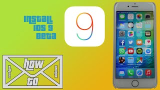 [HOWTO] iOS 9 Beta Installation Tutorial [German] [1080p]