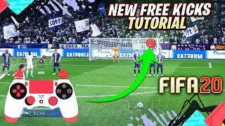 FIFA 20 KNUCKLEBALL FREE KICK (RONALDO FREEKICK) TUTORIAL PS4 AND XBOX