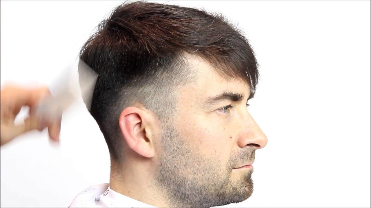 Mens short back & sides haircut full tutorial! - YouTube