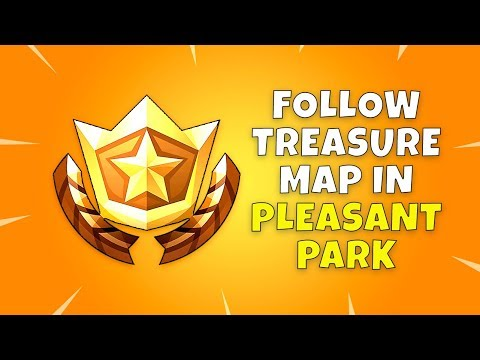 Follow The Treasure Map Found In Pleasant Park - Fortnite Season 4 Week 7 Challenge