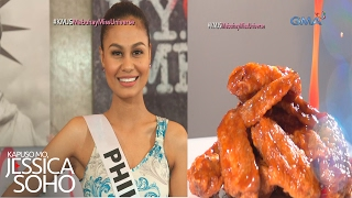 Kapuso Mo, Jessica Soho: Venus Raj, reyna ng Chicken Wing-Eating Challenge