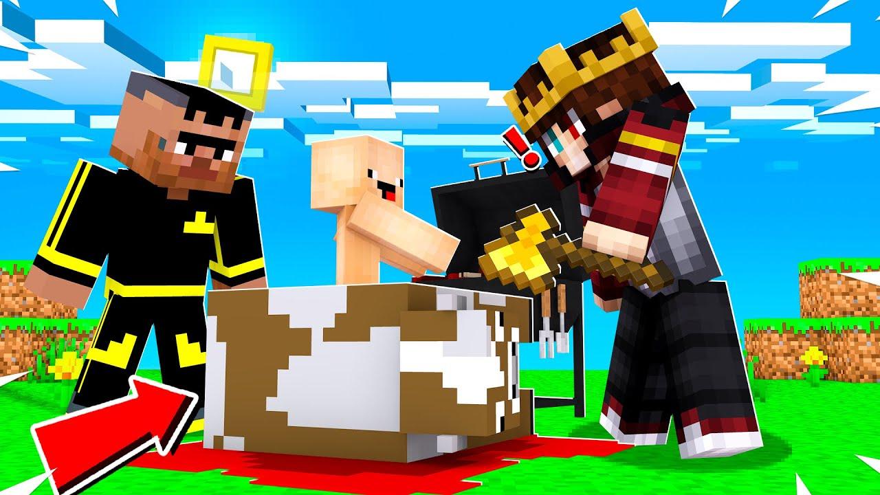 MİNECRAFT ama KURBAN KESTİK !! 😱 - Minecraft