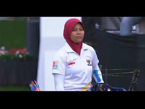 Perebutan Medali Emas Indonesia Vs Vietnam Archery Sea Games 2017