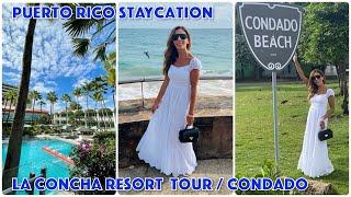 Puerto Rico Staycation / La Concha Resort Tour / Condado #staycation #laconcharesort #puertorico