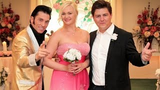 Nicolaj and Linda From Denmark Elvis Wedding Las Vegas. Cupids Wedding Chapel Las Vegas