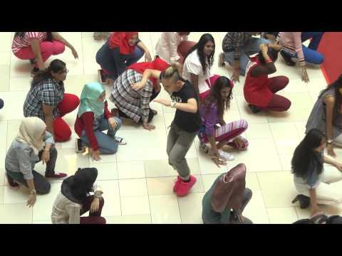Flashmob at CitySquare Johor Bahru with RJVN