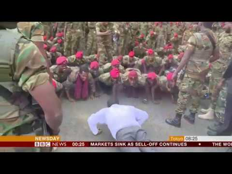 We want more money - give me ten press-ups (Ethiopia) - BBC News - 12th  October 2018