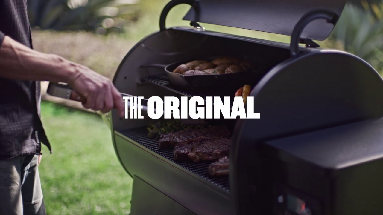 Traeger WiFIRE Pellet Grills - The Original Reinvented thumbnail