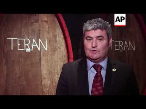 Slovenia-Croatia dispute over Teran red wine