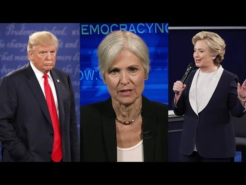 "Part 2: Jill Stein Spars with Clinton & Trump in ""Expanding the Debate"" Special"