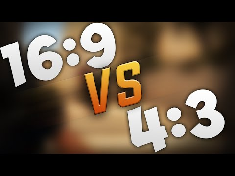 ЧТО ЛУЧШЕ 16:9 ИЛИ 4:3 ? CSGO - СООТНОШЕНИЕ СТОРОН (ASPECT RATIO)