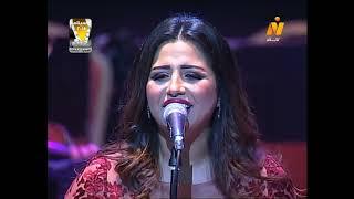 إيمان عبد الغني أداء رائع لأغنية أوقاتي بتحلو دار الأوبرا المصرية