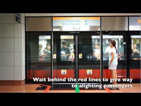 How to Take Singapore MRT