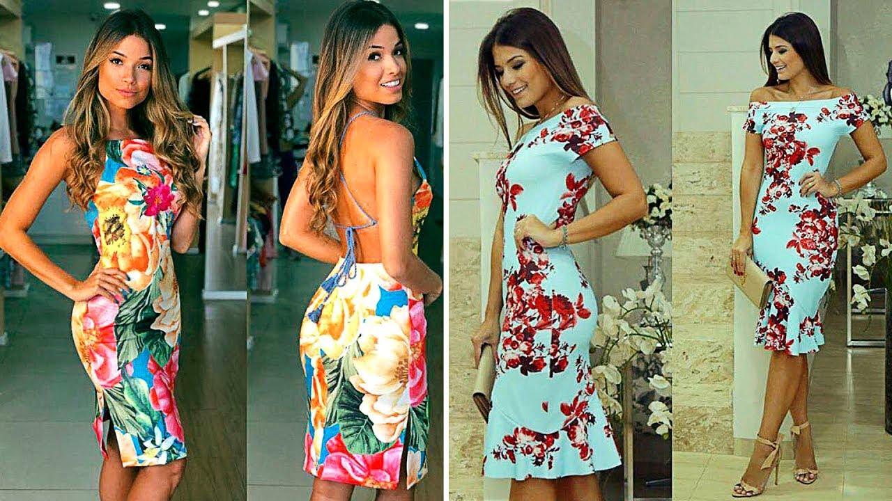 Vestidos Floreados 2018 Moda Girls