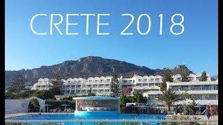 GREECE || CRETE 2018 || Koutsounari || Hotel Sunshine Beach || HD
