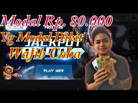 Coba Event Jackpot, Modal 80 Rb!! Free Fire Indonesia