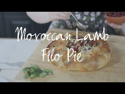How to cook and serve our Moroccan Lamb Filo Pie