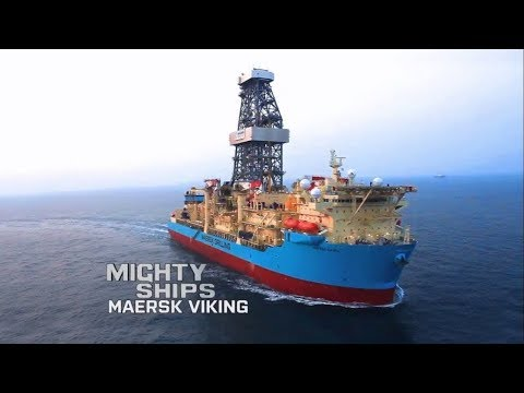 The Maersk Viking - Mighty Ships (Maersk Drilling) HD