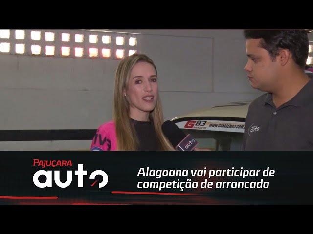 Alagoana vai participar de competição de arrancada na Paraíba