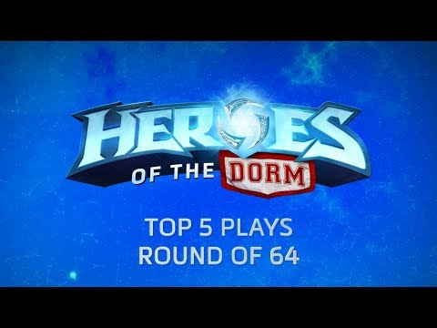 Heroes of the Dorm Top 5 Plays Round of 64