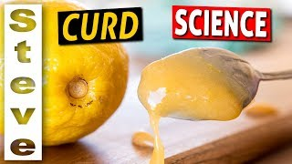 HOW TO MAKE LEMON CURD and the Science Behind It