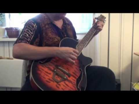 The Wizard Uriah Heep - Improvisation from Grandjets tone G standart tune