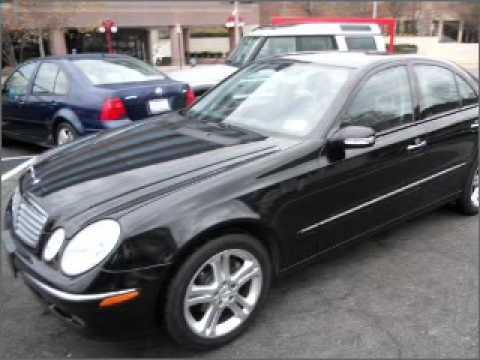 2006 Mercedes Benz E Class   Arlington VA