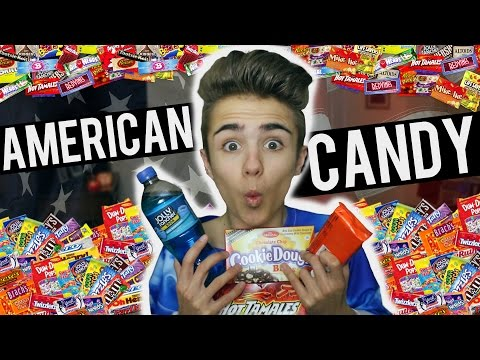 BRITISH TRYING AMERICAN CANDY